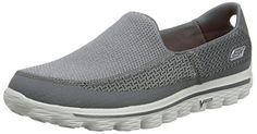 Skechers Go Walk 2, Herren Sneakers,, Grau (Charcoal), 47 - http://on-line-kaufen.de/skechers/47-eu-skechers-go-walk-2-herren-sneakers