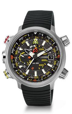 Citizen Eco-Drive Promaster Altichron BN5030-06E Altimeter Citizen Watch