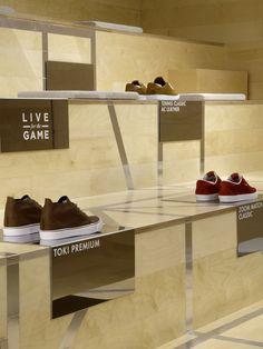 Nike 1948, London | Minimal Footwear Retail Visual Merchandising