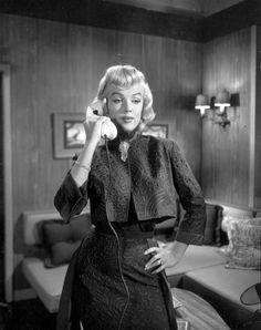"""""""Gentlemen Prefer Blondes"""". 1953. Marilyn Monroe"""