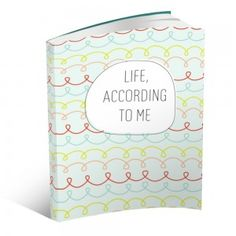 Super cute fill-in-the-blank child's journal