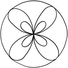 Mandalas zum Ausdrucken String Art Patterns, Mosaic Patterns, Craft Patterns, Mandela Patterns, Radial Pattern, Copper Paint, Crafts For Kids, Arts And Crafts, Flower Template