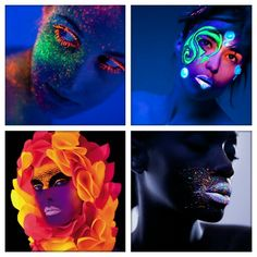 Idea collection for blacklight fotoshoot
