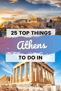 25 Top Things to do in Athens, Greece | travel-boo | Portugal & Spain Travel Blog Europe Travel Guide, Spain Travel, Travel Tips, Travel Guides, Travel Advice, Travel Destinations, Greece Vacation, Greece Travel, Vacation Trips
