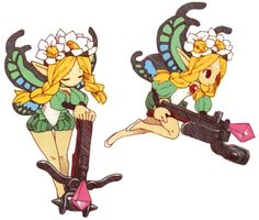Mercedes Concept - Characters & Art - Odin Sphere