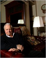 A Home Destined by the Stars - New York Times. Robert Osborne lives in The Osborne building in NYC.