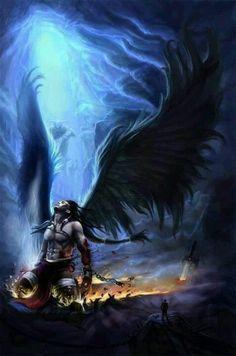 Fantasy Art Fallen Angels |