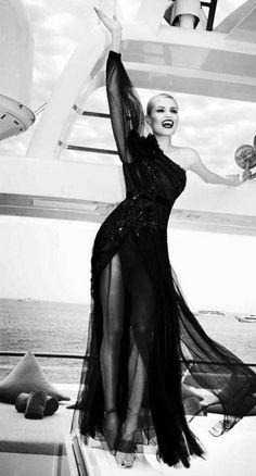Ellen von Unwerth Photographs Natasha Poly For Vogue Russia