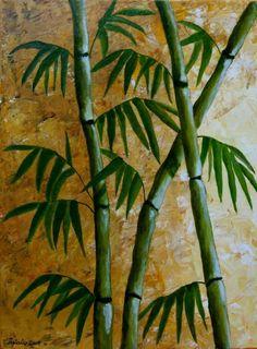 Bamboo Painting - Bamboo Fine Art Print