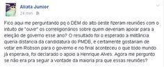 RN POLITICA EM DIA: O QUE DISSE O ADVOGADO ALIATÁ JÚNIOR NO FACEBOOK.....