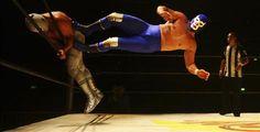 Blue Demon Jr. vs El Hijo del Santo