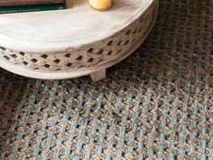House of Turquoise: HGTV Spring House 2016.  Love the woven color.  For a cat free room.  They'd have it shredded in no time