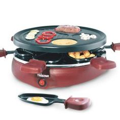 Raclette Gourmet avec 6 Coupelles Tristar RA2991