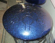 Single VibeDrum - StarDust - Handpan / Hand Drum / Steel Tongue Drum