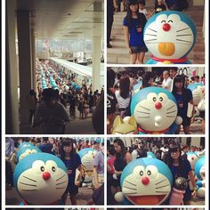 終於去咗探佢地la多啦仔好可愛呀不過認真係好多人影張相都難過人#visit#Doraemon#today#with#my#dad#many#people#take#many#photos#but#it#is#a#little#bit#difficult#hkig#hkiger#followme#followfollow - @cheung_hiu_wai- #webstagram