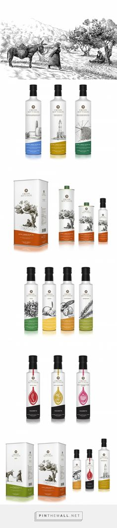 Cretan Mythos is a range of olive oils produced in Crete that was recently relaunched with new branding and packaging.