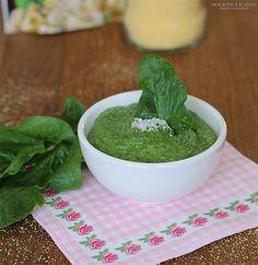 Recette de polenta aux épinards pour bébé au Nutribaby