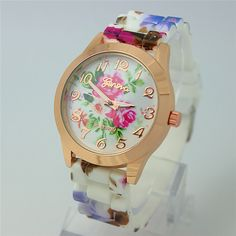 Floral Strap/Face Watch (Type 3)  $35