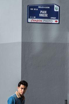 EU wins Nobel Peace Price, Friday Oct. 12, 2012. Rue de la Paix in Brussels. (AP Photo/Geert Vanden Wijngaert)