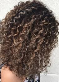Image result for naturally curly balayage