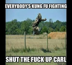 Shut the f* up Carl