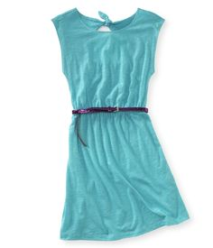 Kids' Belted Knot Dress - PS From Aeropostale