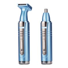 SPORTSMAN 2 In1 ElectricNose Trimmer Rechargeable Men's Ear Nose Hair Cutter Women Face Care Beard Shaver for Nose & Ear