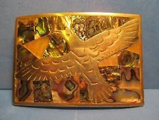Older Hand Made & Engraved EAGLE with WINGS SPREAD BELT BUCKLE MAKE OFFER $75.00 or Best Offer Free shipping
