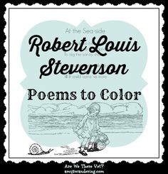 Robert Louis Stevenson, Poems to Color