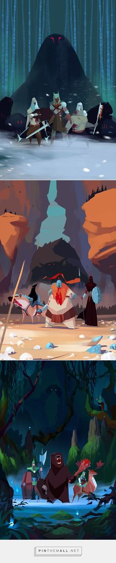 RTS game - Visual Development by Ariel Belinco on Behance