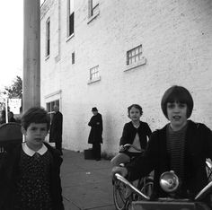 VIVIAN MAIER  Wilmette, IL (Children with Bicycles), 1968    For more information contact: The Jeffrey Goldstein Collection