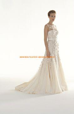 Romantisch Traumhaft Brautkleider 2014 aus Chiffon mit Applikation