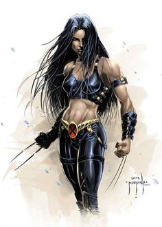 X-23 - by Jason Metcalf | #comics #marvel