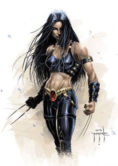 X-23 - by Jason Metcalf | #comics #marvel