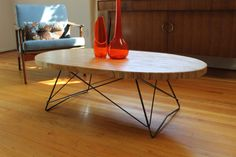 Mid Century Cats Cradle Coffee Table Base by RetroEvolutionDesign