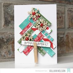 simple christmas cards by just g at @studio_calico