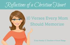 10 Verses Every Moms Should Memorize