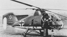 Der Flettner Fl-282 Kolibri war der erste serienreife Hubschrauber.