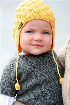 Hat + Sweater = TOO cute!