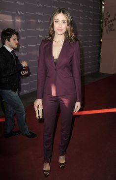 Emmy Rossum - The 'Women In Entertainment Breakfast' - Red Carpet