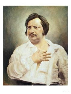 Giclee Print: Honoré de Balzac Wall Art : 24x18in