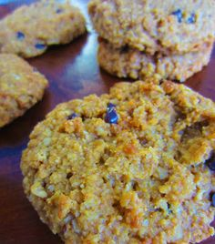 Pumpkin Breakfast Cookies   Printable Recipe                  It's another one of those hot summer days where the afternoon storms roll ...