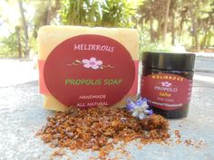 Skin Care Gift Set of Propolis Healing Salve and Propolis Soap with Extra Virgin Olive Oil and Lavender.All natural,Organic,Christmas Gift Bee Propolis, Cold Process Soap, Lavender Oil, Sweet Almond Oil, Pure Essential Oils, Handmade Soaps, Olive Oil, At Least, Healing