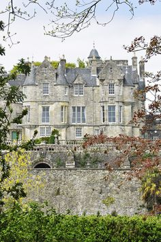 Torosay Castle, Isle of Mull, Scotland. A Scottish Baronial mansion built in 1856