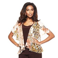 "Antthony ""Rosemarie"" 2-piece Chiffon Cardigan and Tank Set at HSN.com."