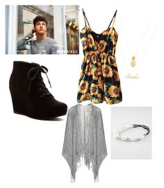 """New York shopping with Cameron Dallas"" by allena-mckenzie ❤ liked on Polyvore featuring moda, Rampage, Forever 21, Frapp y Full Tilt"
