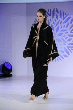 Nawal Al Khuwari Arab Women, Muslim Women, Kaftans, Abayas, Modest Fashion, Hijab Fashion, Arabic Dress, Muslim Dress, Casual Wear