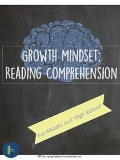 Help your students develop a growth mindset by teaching them how the brain works when it learns new information. Perfect for back to school. Reading Comprehension Activities, Teaching Strategies, Teaching Reading, Teaching Resources, Teaching Tools, Teaching Ideas, Middle School Ela, Middle School English, Read 180