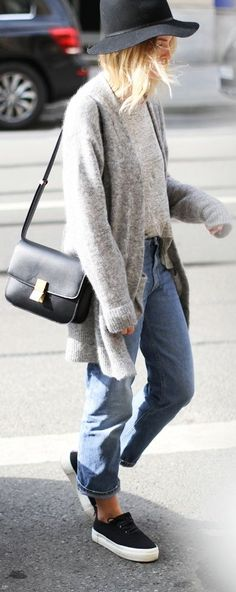 Janessa Leone Black Wool Leather BAnd Metal Detail Hat by Mija|CreatorOf Desire