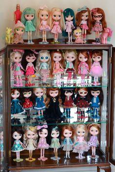 Duchess Ravenwaves' Blythe collection